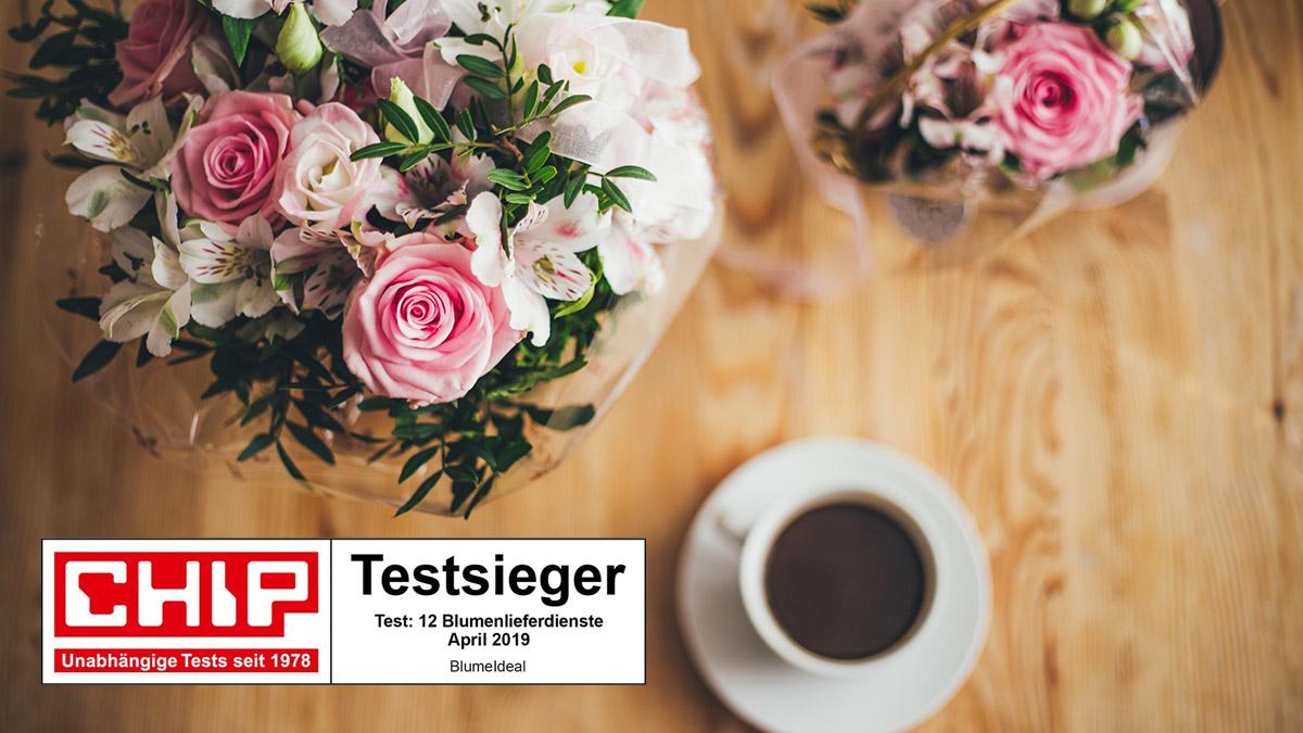 CHIP testet Blumen-Lieferdienste: Kleine Namen, große Pracht